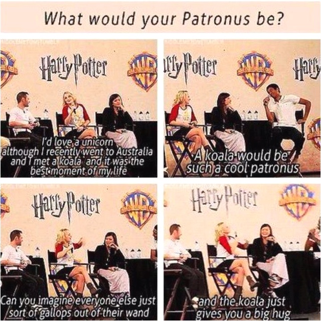 I love Evanna Lynch!!! She is seriously funny. The best possible Luna ever!!!
