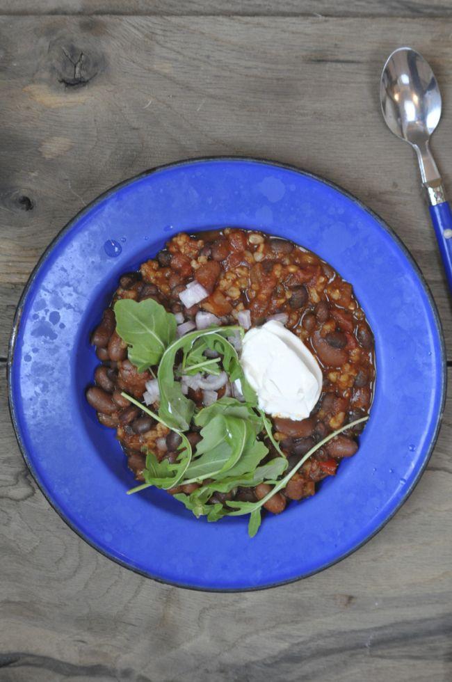 Smoky Black Bean Chili – Sarah Waldman