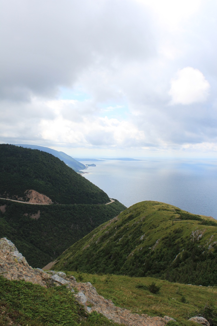 Skyline hiking Trail, Cape Breton, Nova Scotia.  You can find this on the Cabot Trail in the Cape Breton Highlands National Park.