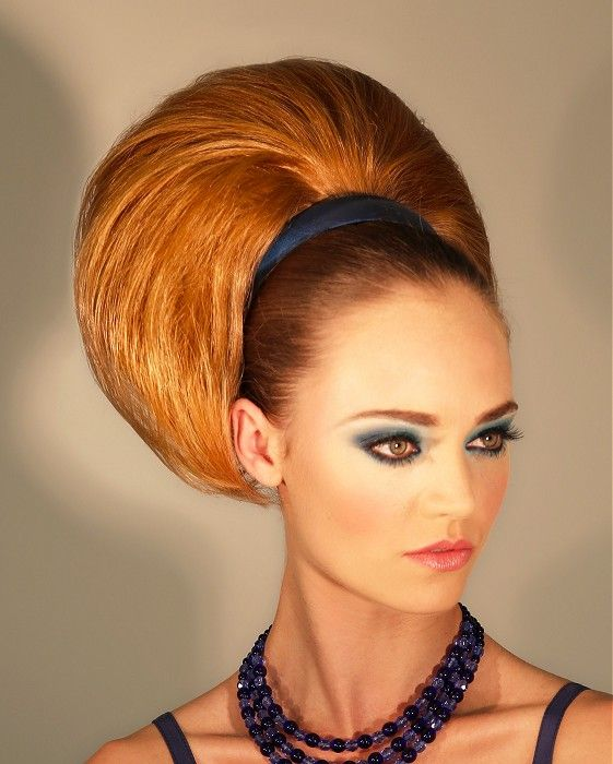 Beautiful Long Brown Hairstyles · Bouffant HairstylesFormal HairstylesUk  HairstylesHair ...