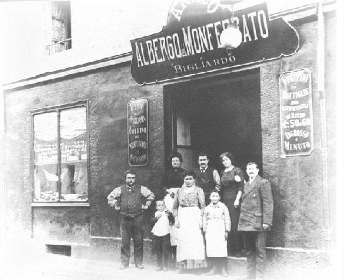 ristorante monferrato foto antica