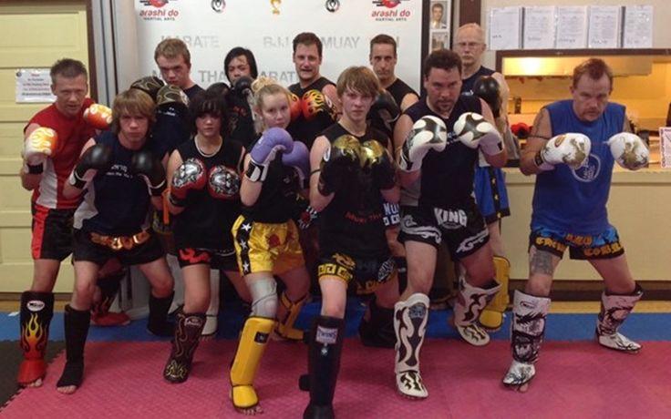 Muay Thai adult class at Springbank