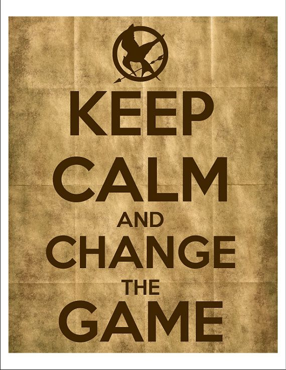 #HungerGames KeepCalm