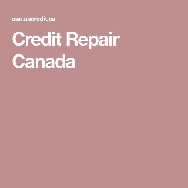 Credit Repair Canada