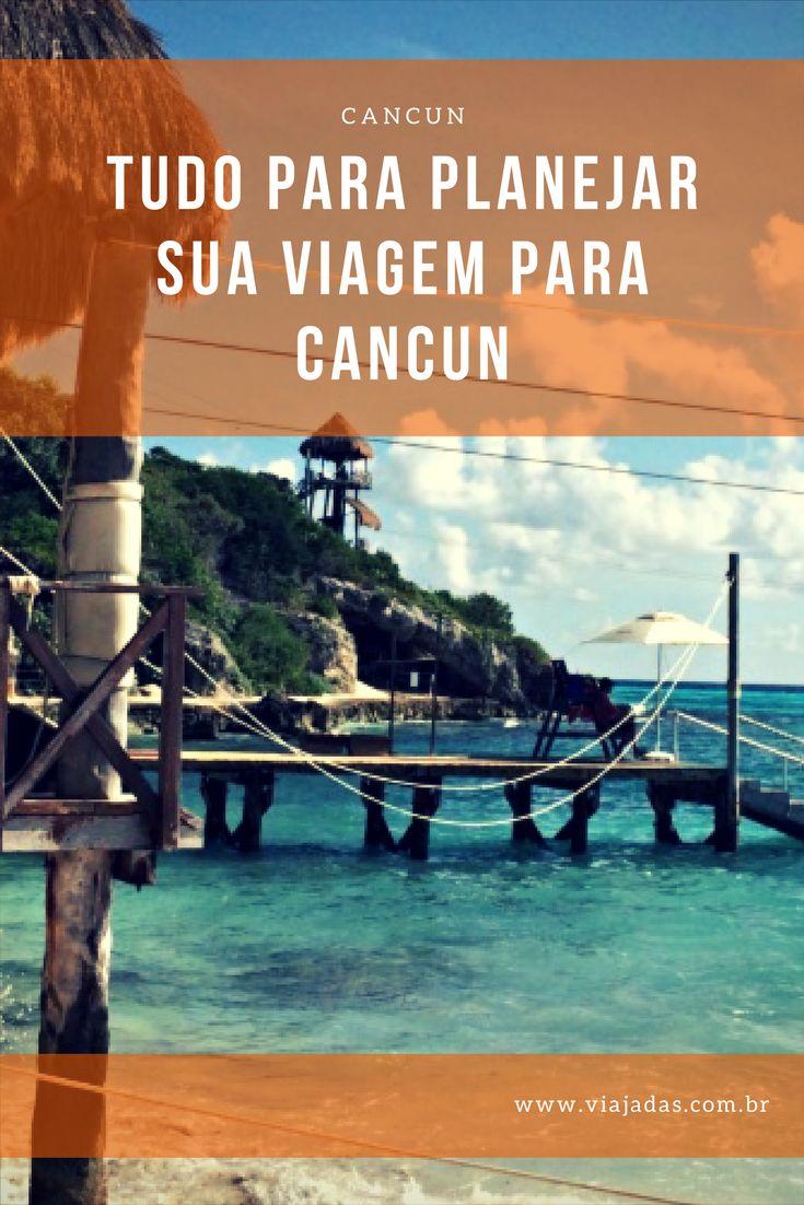 Confira em nosso post tudo o que você precisa para planejar sua viagem a Cancun, no México: http://www.viajadas.com.br/tudo-sobre-cancun-post-indice/