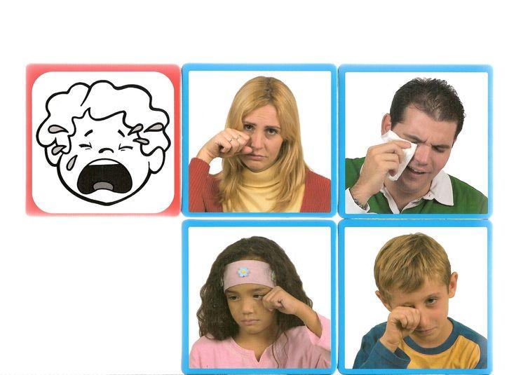 Thema emoties en gevoelens Ked ad det http://arbeitsmaterial.blogspot.fr/2015/11/mimikkarten-mach-nach.html