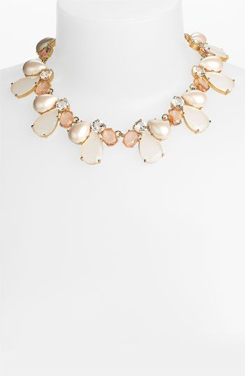 kate spade new york 'crystal chapel' collar necklace | Nordstrom | See