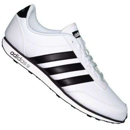 ... Adidas Neo, Racer Leather, Black White, Adidas Shoes, Leather F38503: pinterest.com/pin/494481234062872377