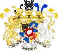 Great coat of arms of Rothschild family