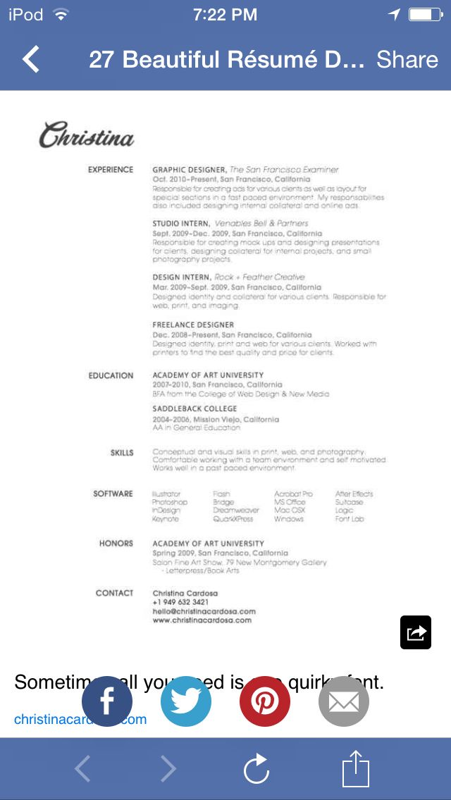 27 best Resume images on Pinterest Resume, Resume templates and - enclosed is my resume