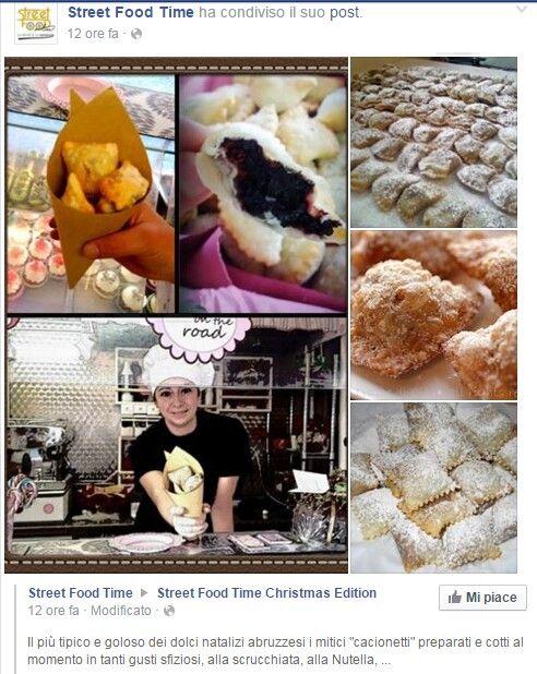 #cakesontheroad della pasticceria LaMimosa di Tollo Tratto da Street Food Time https://www.facebook.com/Street-Food-Time-441102199405869/