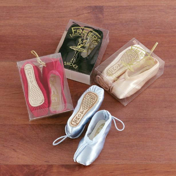 A Lovely Gift Of Miniature Ballet Shoes Ballet