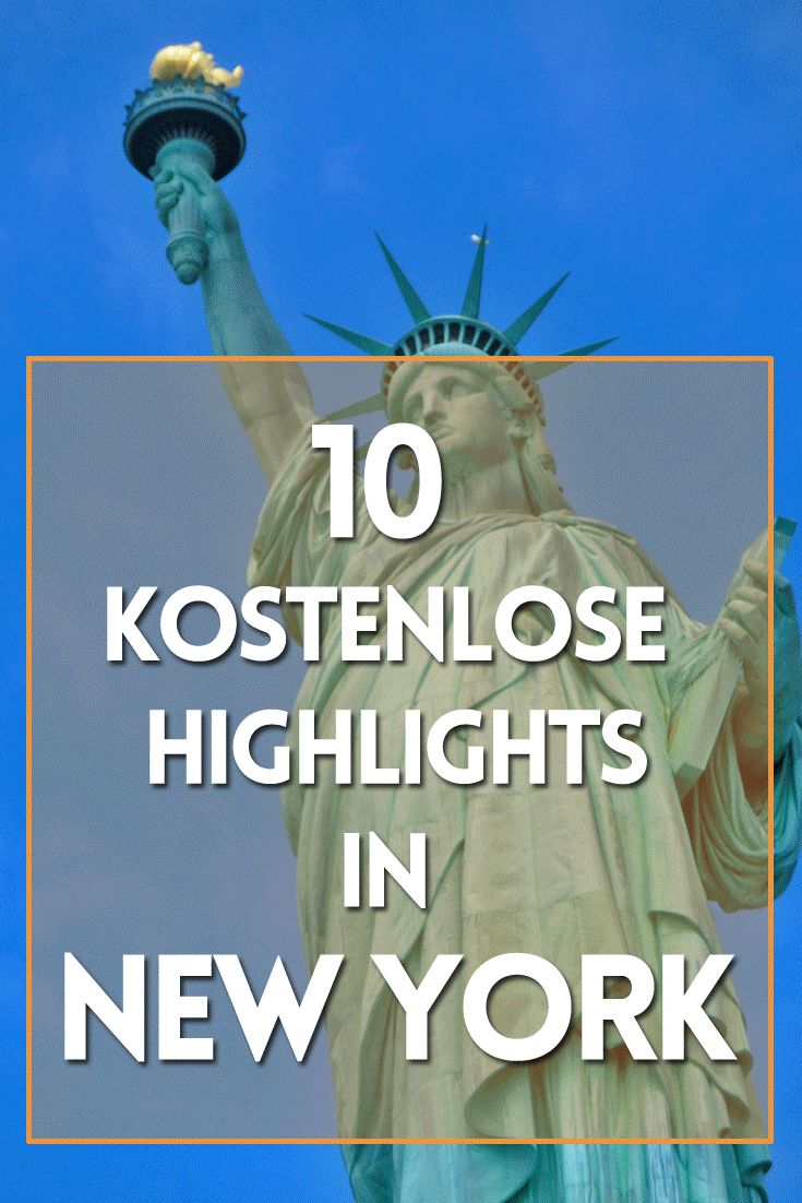 New York Reise: 10 kostenlose Tipps für Deinen Urlaub im Big Apple.