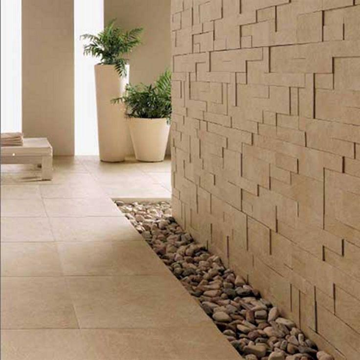 59 Contemporary Rock Wall Interior Ideas