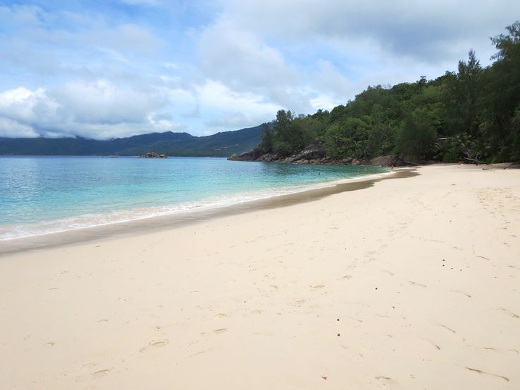 Anse Soleil on a southwestern point of Mahe, Seychelles, is one of the finest beaches on the island.