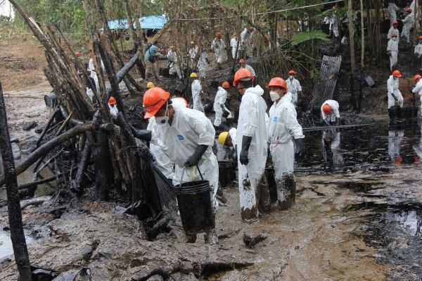 Petroleo, Amazonia y pueblos indigenas: respuestas a los problemas de la contaminacion