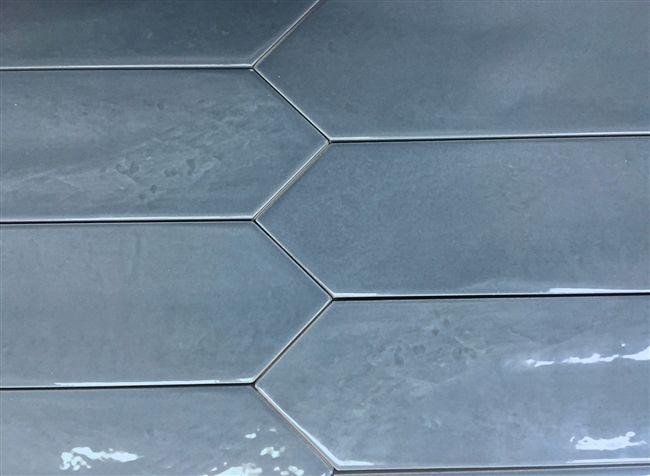 This Blue Ceramic Item Has Undulated Surface Finish Unique Texture Faded Coloring Ceramic Tile Backsplash Kitchen Flooring Ceramic Tiles
