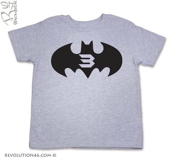 birthday boy super hero shirt
