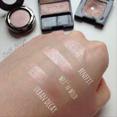 Urban Decay Sin dupe - WnW Walking on Eggshells (eyelid shade)