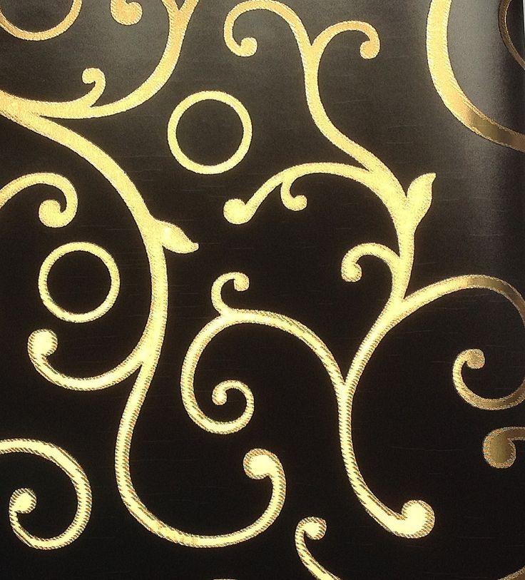 M s de 25 ideas incre bles sobre papel tapiz de oro en for Papel decorativo dorado