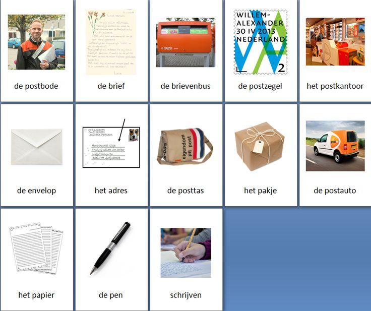 Themakaarten - postbode - groot