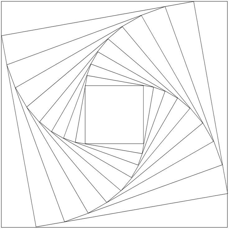 25+ unique Geometric coloring pages ideas on Pinterest