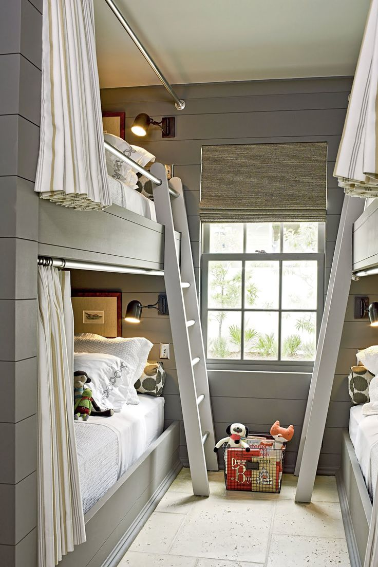 Best 25 Bunk rooms ideas on Pinterest  Bunk bed rooms White bunk beds and Kids cabin beds