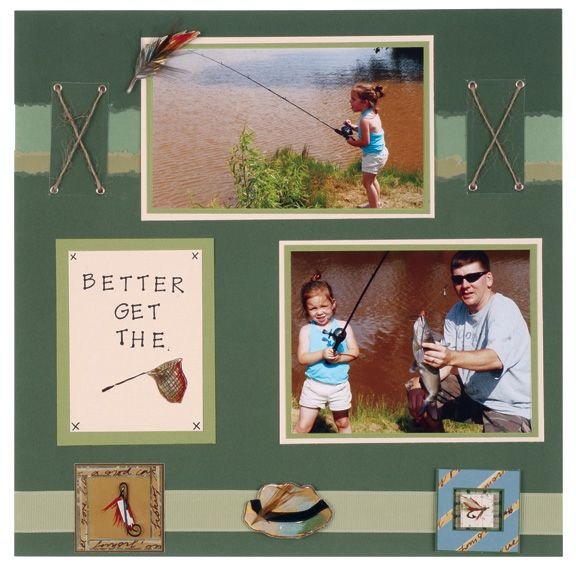 17 Best Images About Scrapbooking Page Layouts- Camping