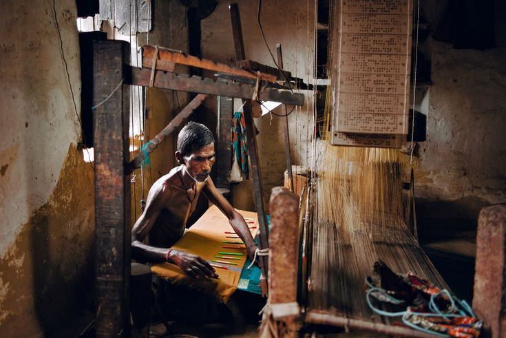 On the banks of the Ganges River, ancient looms and their artisans are working again, thanks to outside help.