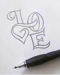 Image result for pinterest diy doodling 3d letters