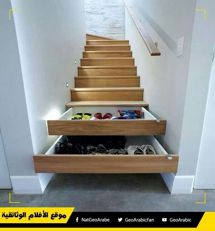 Drawer Stairs Ideas Stair Drawers House Design Home