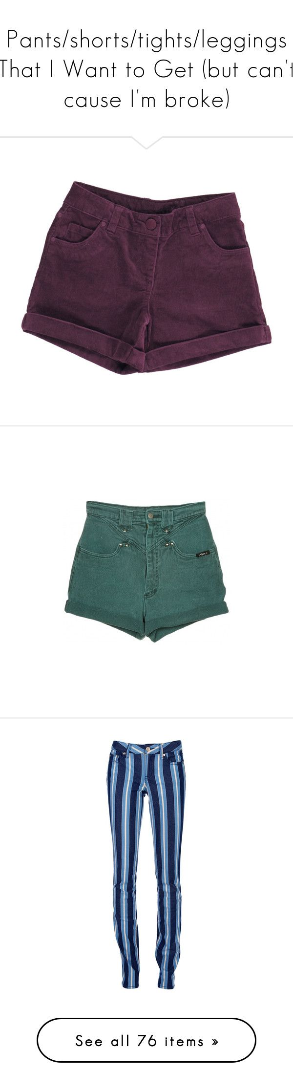 """Pants/shorts/tights/leggings That I Want to Get (but can't cause I'm broke)"" by arielhackworth ❤ liked on Polyvore featuring shorts, bottoms, pants, short, detail, embellishment, short shorts, green jean shorts, green shorts and short jean shorts"