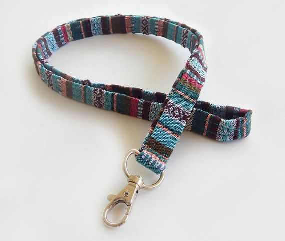Hey, I found this really awesome Etsy listing at https://www.etsy.com/listing/290847133/woven-lanyard-boho-keychain-indian