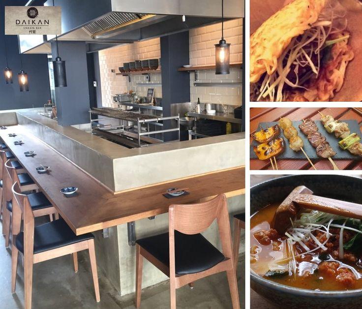"""DAIKAN - Einfach nur WOW - super leckere japanische Küche und """"Tapas""""! Das Interior ist cool & clean. Und ihr Lieben: es gibt RAMEN-BURGER. Yes!"""