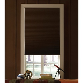 toffee colored cellular room darkening shades from loweu0027s