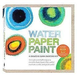 Water Paper Paint: A Creative Card-Painting Kit, Jones, Heather Smith