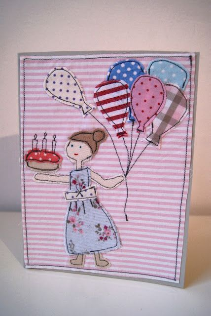 Geburtstags-Grußkarte selber machen