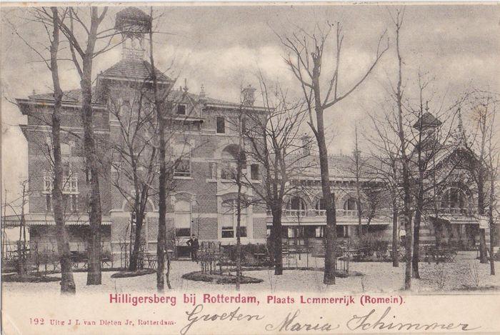 Rotterdam - Hilligersberg - Lommerrijk Catawiki periode 1900-1920 -