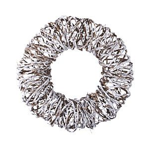 Twig Snow Wreath from Crate and Barrel