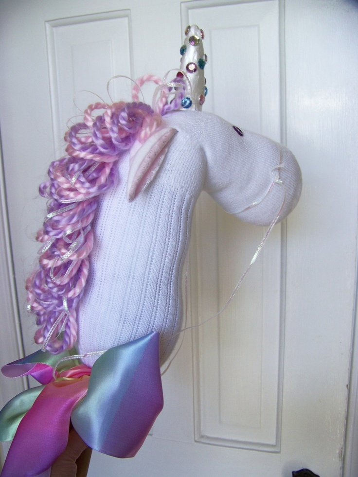 Hobby Horse Unicorn Pattern Tutorial How To Make Your Own