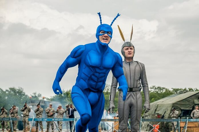 'The Tick' Interview: Peter Serafinowicz and Griffin Newman Discuss the Crazy Superhero Series