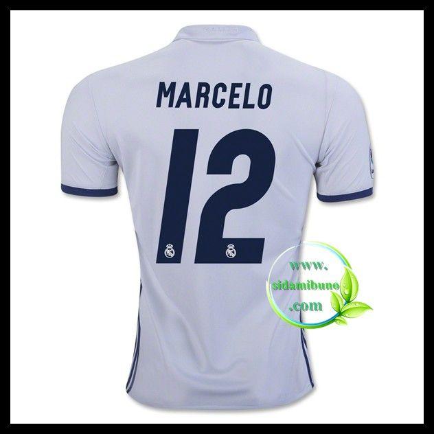 Fotballdrakter FC Real Madrid MARCELO #12 Hjemmedraktsett 2016-2017