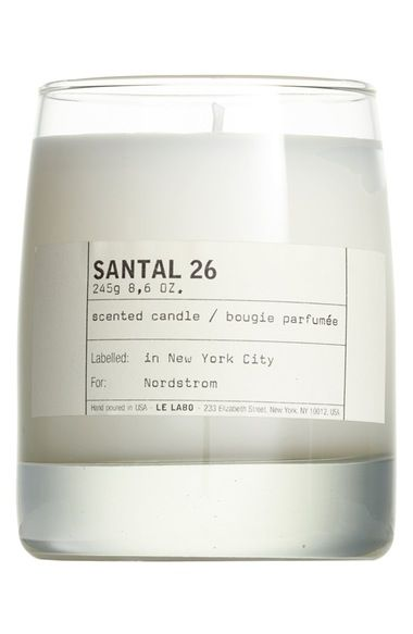 Le Labo 'Santal 26' Classic Candle available at #Nordstrom