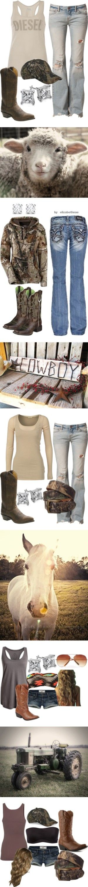 ***ATTENTION*** I am not claiming to be a cowgirl so everyone calm down, I just like these styles!! That is all