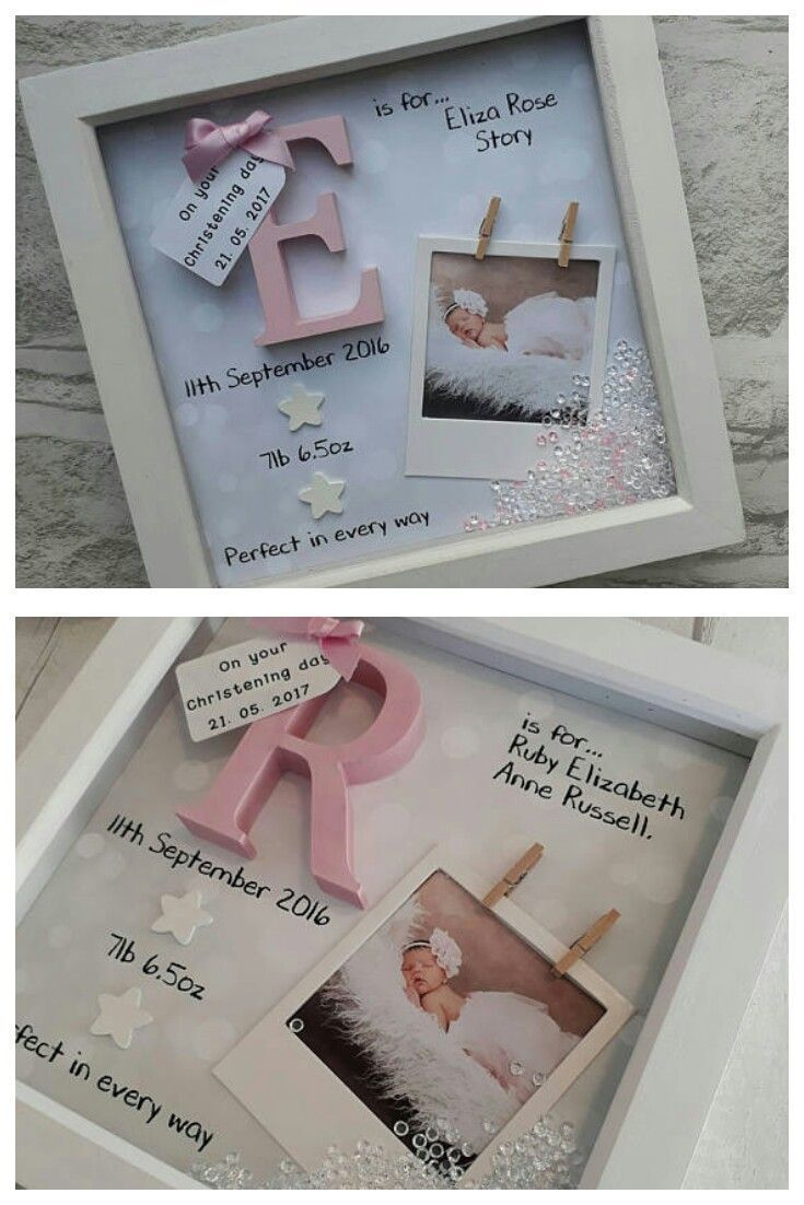 New Baby Gift Girl Gifts For Newborn 1st Birthday Goddaughter Niece Nursery Print Personalized Keepsake Ad Womens