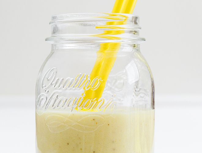 smoothie mpananas, gala karidas