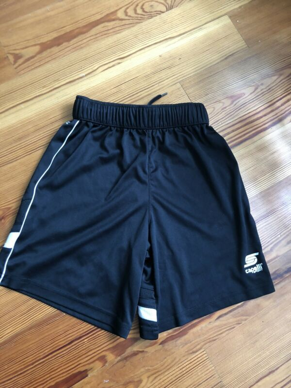 Euc Capelli Youth Soccer Athletic Shorts Black Size Small 8 In 2020 Athletic Shorts Black Athletic Pants Youth Soccer