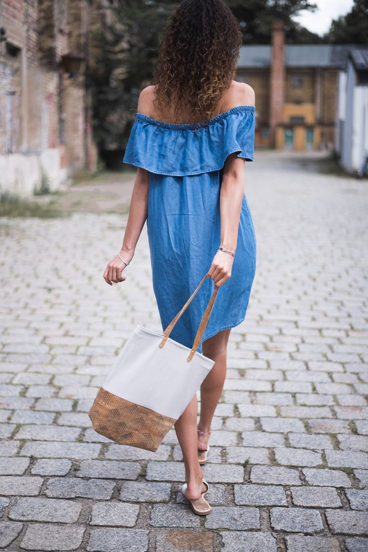 Fair Fashion Outfit: Vegan and ethical fashion bag and vegan and sustainable shoes!