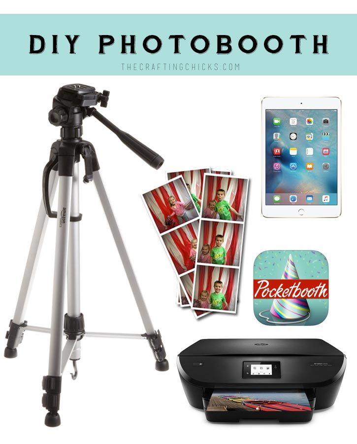DIY Photobooth - Everything you'll need to create a photobooth of your own!