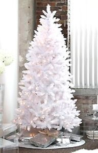 Madison Pine Artificial Christmas Tree White